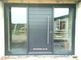 side panel front doors with side panels