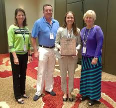 ACCT - Abby Brown receives ACCT Patient Advocate Award