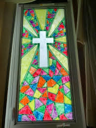 paint your own stained glass windows