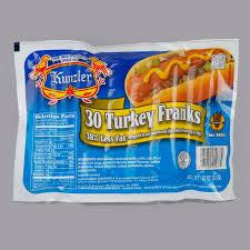 3 lb 30 count 10 1 size turkey franks
