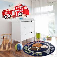 Red Fire Engine Shade Lighting Fixture Trains Cars Metal 1 Light Pendant Lamp For Boys Bedroom Beautifulhalo Com