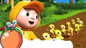 Nhạc Thiếu Nhi ♫ Bài Hát Ten Little Duckies A Counting Song ...