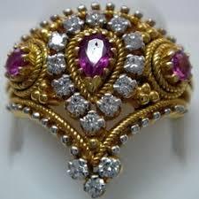 real diamond ring indian jewelry