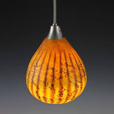 blown glass pendant light batik