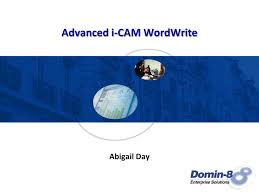 PPT - Advanced i-CAM WordWrite PowerPoint Presentation, free download -  ID:3732121