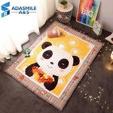 Nordic Cartoon Panda Carpet Home Decor Kids Room Rugs Anti Slip Bedroom Area Rug Baby Crawling Play Mat Carpets Living Room Carpet Depot Cheap Carpet Tiles From Highqualit01 77 46 Dhgate Com