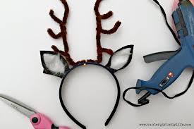 diy reindeer headband hunter s