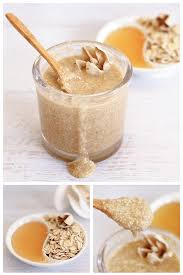 oatmeal honey face scrub dabbles