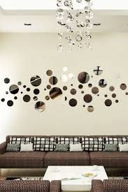 bubble variety reflective wall decal by