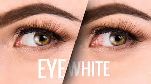 red eyes and clean up eye whites