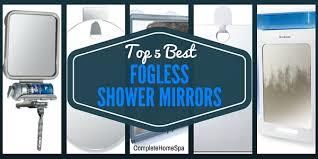the 5 best fogless shower mirrors