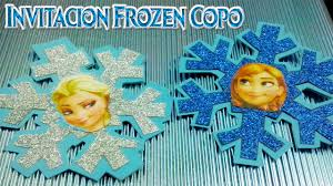 Invitaciones Para Fiesta De Frozen Youtube