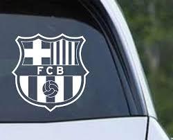 Fc Barcelona Football Soccer Club Inspired Die Cut Vinyl Decal Sticker Texas Die Cuts