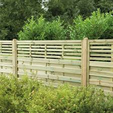 Hartwood 4 X 6 Horizontal Weave Fence Panel With Slatted Top