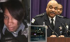 Chicago cop seen drinking with fired police chief Eddie Johnson ...