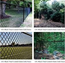 Photo 2 Of 4 View All Planning Commission To Review San Ramon Golf Club Perimeter Fencing Project On Places Where The Property Borders Residential Homes The Project Would Install A Six Foot High Black Vinyl Coated Chain Link Fence Image Courtesy City Of