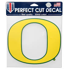 Oregon Ducks Wincraft 8 X 8 Color Car Decal