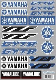 Yamaha Factory Racing Decal Sticker