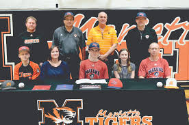 MHS all-state baseball player signs with Malone   News, Sports ...