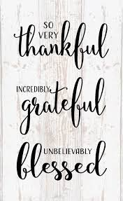 i have it all so thankful and grateful for all the people that