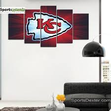 Kansas City Chiefs Wall Art Canvas Sportsdexter