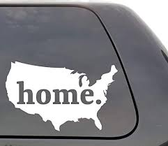 Amazon Com United States Decal United States Of America Usa Decal Home Country Vinyl Decal Car Decals Yeti Decal Laptop Decal State Love Window