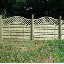 Omega Lattice Top Fence Panel 1 5m Wooden Supplies