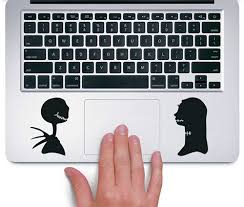 Amazon Com Jack Skellington And Sally Nightmare Before Christmas Disney Trackpad Apple Macbook Laptop Vinyl Sticker Decal Clothing