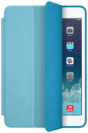apple ipad mini smart case blue