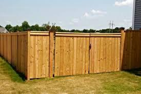 Wilmington Wood Fence Construction Seegars Fence Company