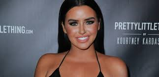 Abigail Ratchford Flaunts Super Cleavage In A Skimpy Yellow Bra | Almogaz -  Breaking News