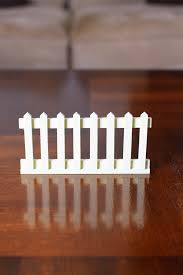 Picket Fence White Pack Of 5