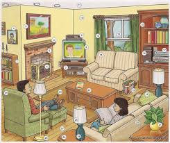 living room dictionary for kids