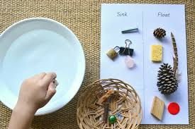 A Couple of Easy Montessori Activities - Sink/Float and Magnetic ...