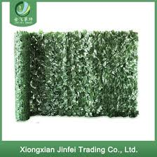 China Artificial Ivy Roll Green Fence Leaves Fence China Artificial Plant And Fence Price