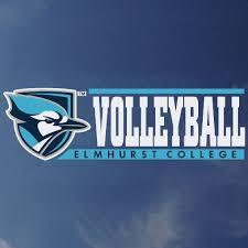 Elmhurst Volleyball Decal Beck S Bookstore 19 Elmhurst University