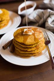 pumpkin pancakes tastes better from