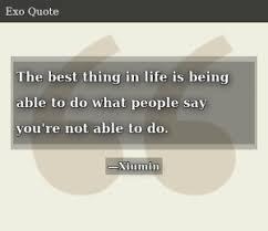 xiumin quotes