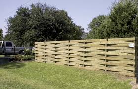 Basket Weave Fence That S Going To Be Fun To Install Fence Design Fence Styles Fence