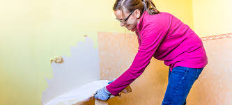 clean the wall after removing wallpaper