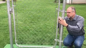 Sta Kloz Chain Link Gate Closer Youtube