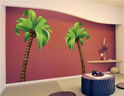 Palm Tree Wall Mural Decal Large Wall Decal Murals Wall Mural Decals Tree Wall Murals Tree Wall Art