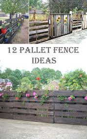 12 Ingenious Pallet Fence Ideas Cool Diys