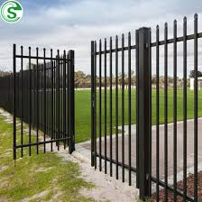 China Low Cost Decorative Metal Fence For Perimeter Of A Farm China Metal Fence Iron Fence