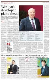 Westpark Shannon - Sunday Business Post by Accolades Marketing - issuu
