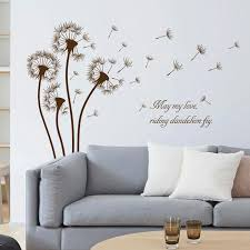 Brown Color Dandelion Wall Sticker Living Room Bedroomkids Rooms Home Decor Pvc Autocollant Mural Bedroom Stickers For Walls Bedroom Wall Decals From Oopp 13 27 Dhgate Com