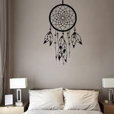 Living Room Decal Owl Dream Catcher Vinyl Wall Art Sticker Bedroom Decal Home Garden Home Decor