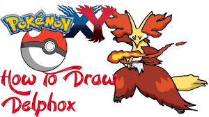 How To Draw Delphox (POKEMON) - YouTube