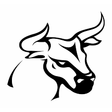2pc Car Decals Car Decal 10 9 10 1cm Classic Tattoo Bull Simple Design Decal Car Styling Decoration Vinyl Car Stickers Black White Silver Red Size 6 6 Wish