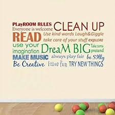 Buy Playroom Rules Vinyl Wall Art Playroom Rules Wall Decal Classroom Rules Kids Playroom Home Decor Dark Brown M In Cheap Price On Alibaba Com